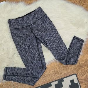 Victoria Sport gray and black workout leggings Med